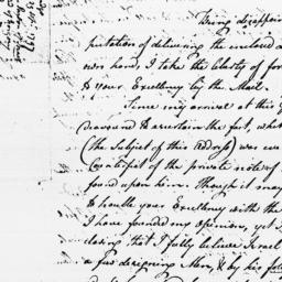 Document, 1797 September 29