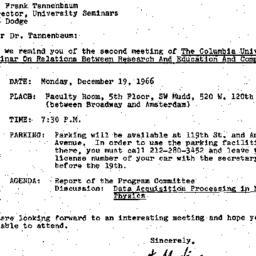 Correspondence, 1966-12-13....