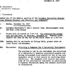 Correspondence, 1967-12-08....