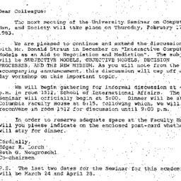 Announcements, 1983-02-17. ...
