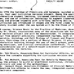 Announcements, 1995-02-15. ...