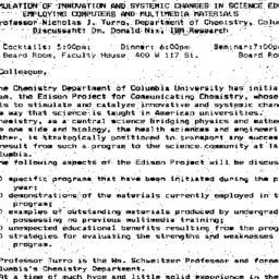 Announcements, 1994-11-30. ...