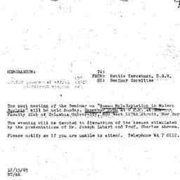 Announcements, 1965-12-15. ...