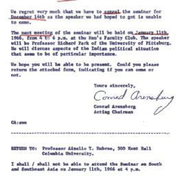Correspondence, 1965-12-14....
