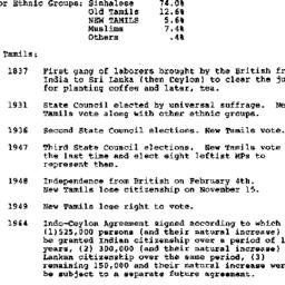 Handouts, 1986-11-12. South...