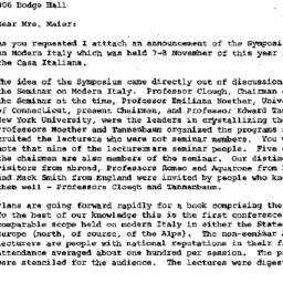 Correspondence, 1969-11-25....