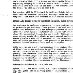 Announcements, 1968-12-30. ...