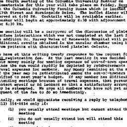 Announcements, 1975-12-03. ...