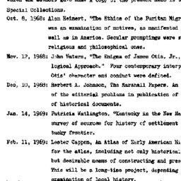 Correspondence, 1969-04-30....