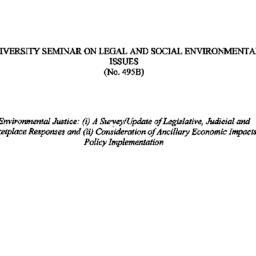 Handouts, 1998-04-08. Legal...