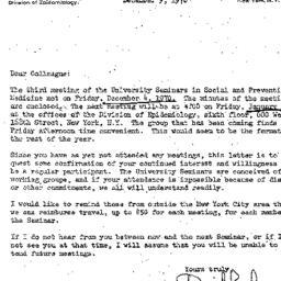 Correspondence, 1970-12-09....