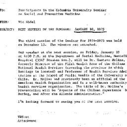 Announcements, 1974-12-17. ...