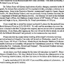 Announcements, 1998-02-17. ...
