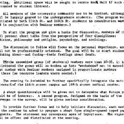 Minutes, 1974-12-11. Death,...