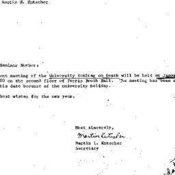 Announcements, 1977-01-26. ...