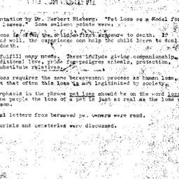 Minutes, 1981-01-21. Death,...