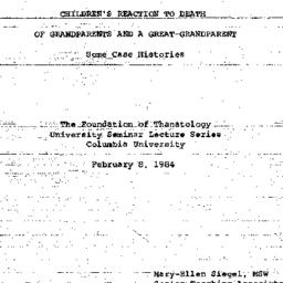 Speaker's paper, 1984-02-08...