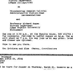 Announcements, 1974-03-21. ...
