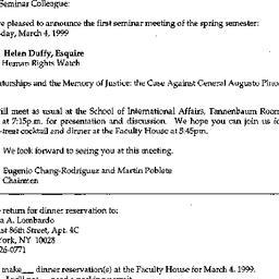 Announcements, 1998-03-04. ...