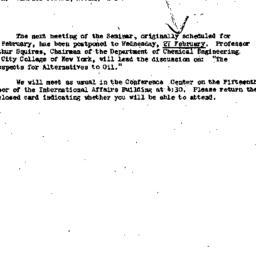 Announcements, 1974-01-29. ...