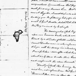 Document, 1777 August 25