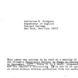 Background paper, 1977-09-1...
