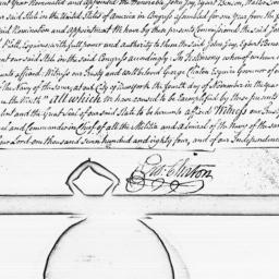 Document, 1784 November 04