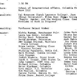 Minutes, 1983-11-22. Twenti...
