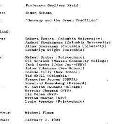 Minutes, 1994-01-27. Twenti...