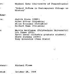 Minutes, 1994-10-20. Twenti...