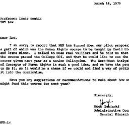 Correspondence, 1978-03-14....