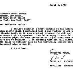 Correspondence, 1978-04-04....