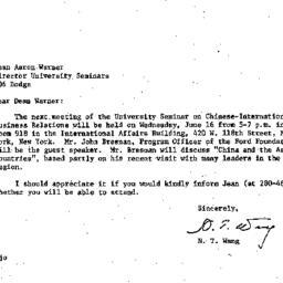 Correspondence, 1982-06-01....