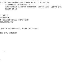 Announcements, 1998-02-12. ...