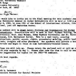 Correspondence, 1985-04-10....