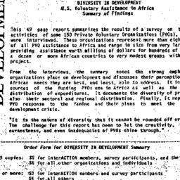 Handouts, 1985-10-14. Phila...