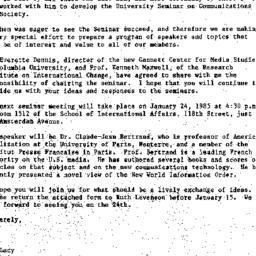 Correspondence, 1984-12-18....