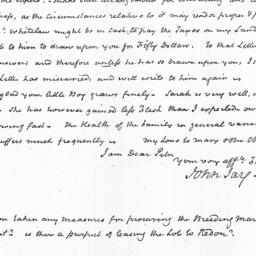 Document, 1822 July 02