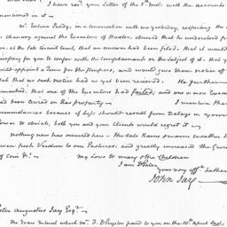 Document, 1822 July 08