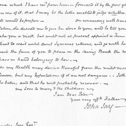 Document, 1823 March 03