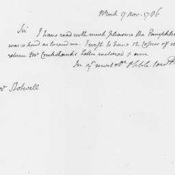 Document, 1786 November 17