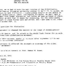 Announcements, 2002-04-24. ...