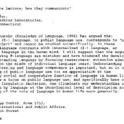 Announcements, 2000-09-28. ...