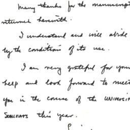 Correspondence, 1970-02-17....