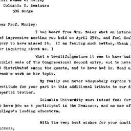 Correspondence, 1970-05-12....