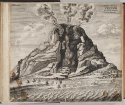 Illustration, 'Typus Montis Vesuvii'