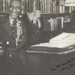 Alexander Gumby in 1950 fro...