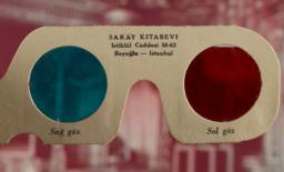Image shown through glasses