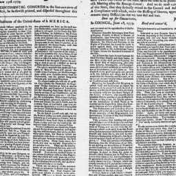 Document, 1779 June 18