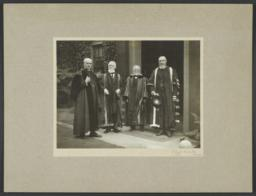 Andrew Carnegie during Quatercentenary Celebrations at the University of Aberdeen